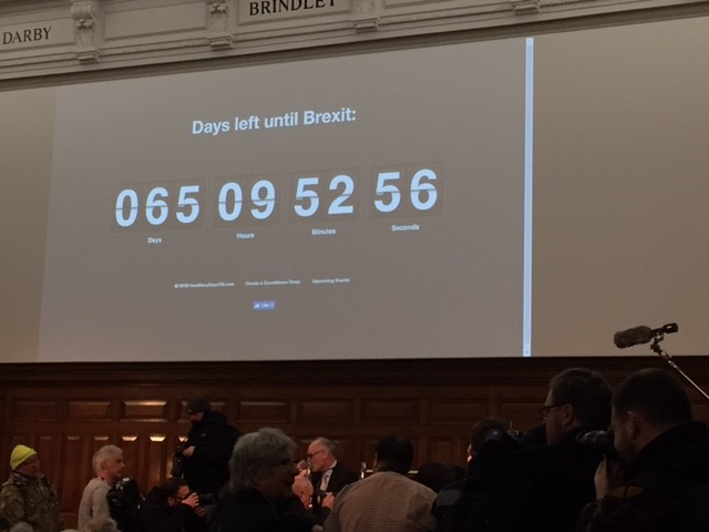 Days Left until Brexit