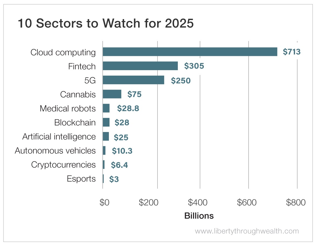 10 Sectors to Watch for 2025