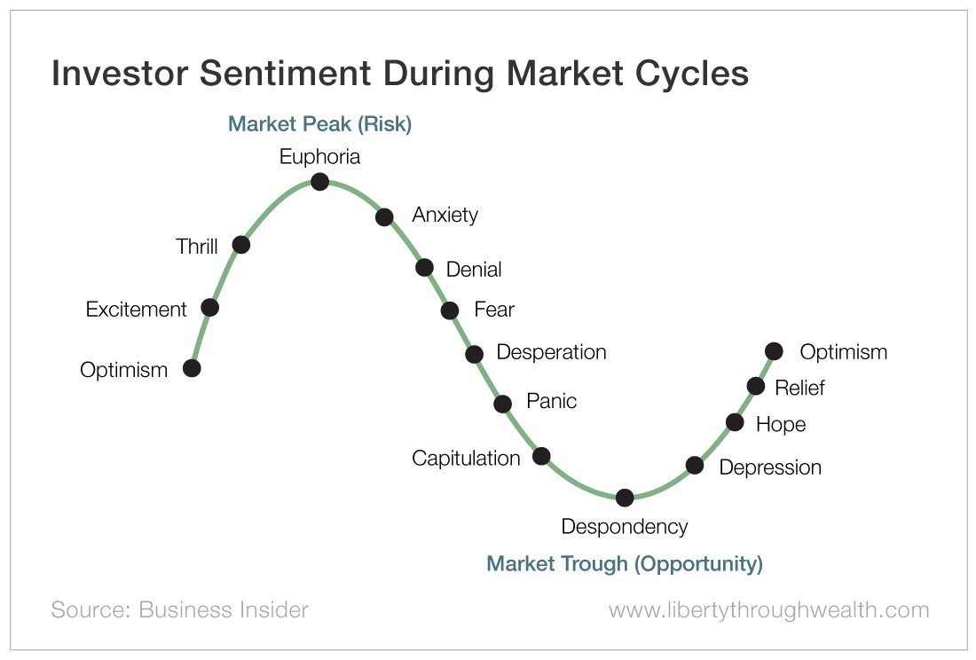 Investor Sentiment During Market Cycles